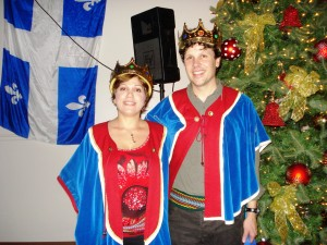 Nancy Rizk et Martin Claveau, Reine et Roi