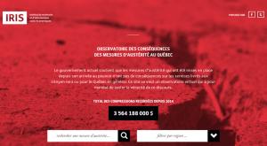 Observatoire des conséquences des mesures d'austérité au Québec