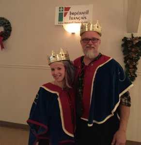 Sa Majesté le Roi Marc 1er et Sa Majesté la Reine Jeneviève 1re