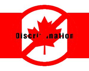 Drapeau Canada - Discrimination 2016