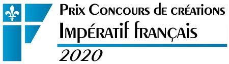 Prix Concours de créations Impératif français 2020