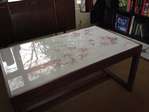 3D Epoxy Table Top