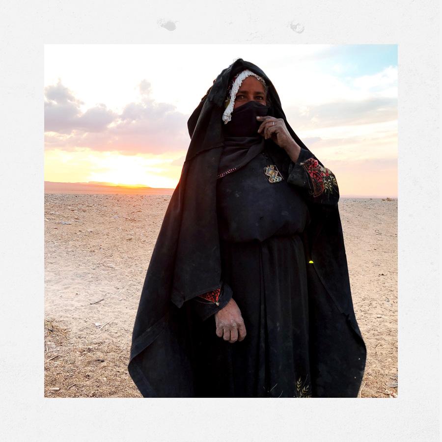 Donna beduina