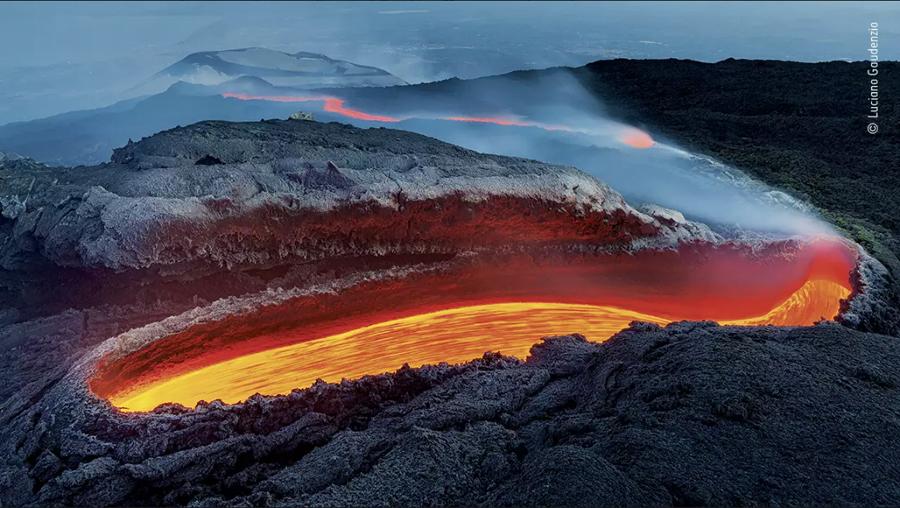 Il fiume di fuoco dell'Etna