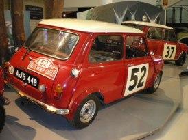 モンテカルロラリー52号車 ミニクーパー