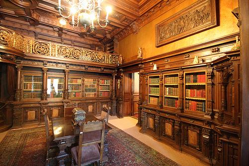Image result for biblioteca regala castelul peles