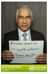 SR at First WHO Ministerial Conference on Global Action Against Dementia...