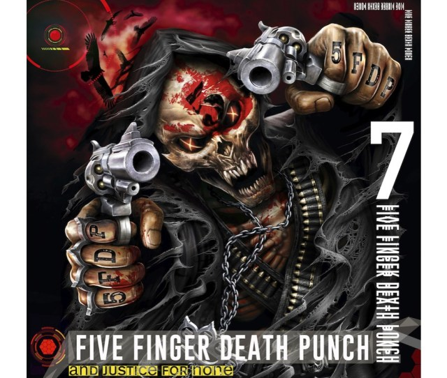 Five Finger Death Punch And Justice For None Deluxe Edition