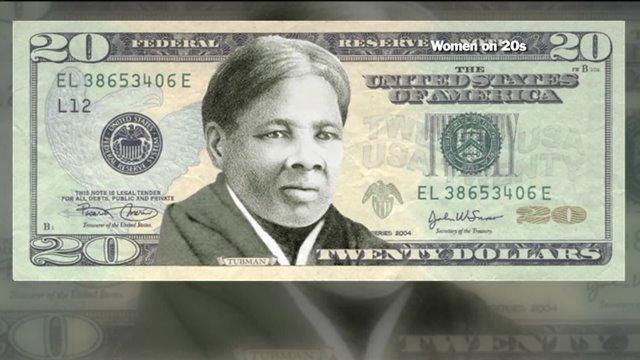 Harriet Tubman will knock Andrew Jackson off the $20 dollar bill