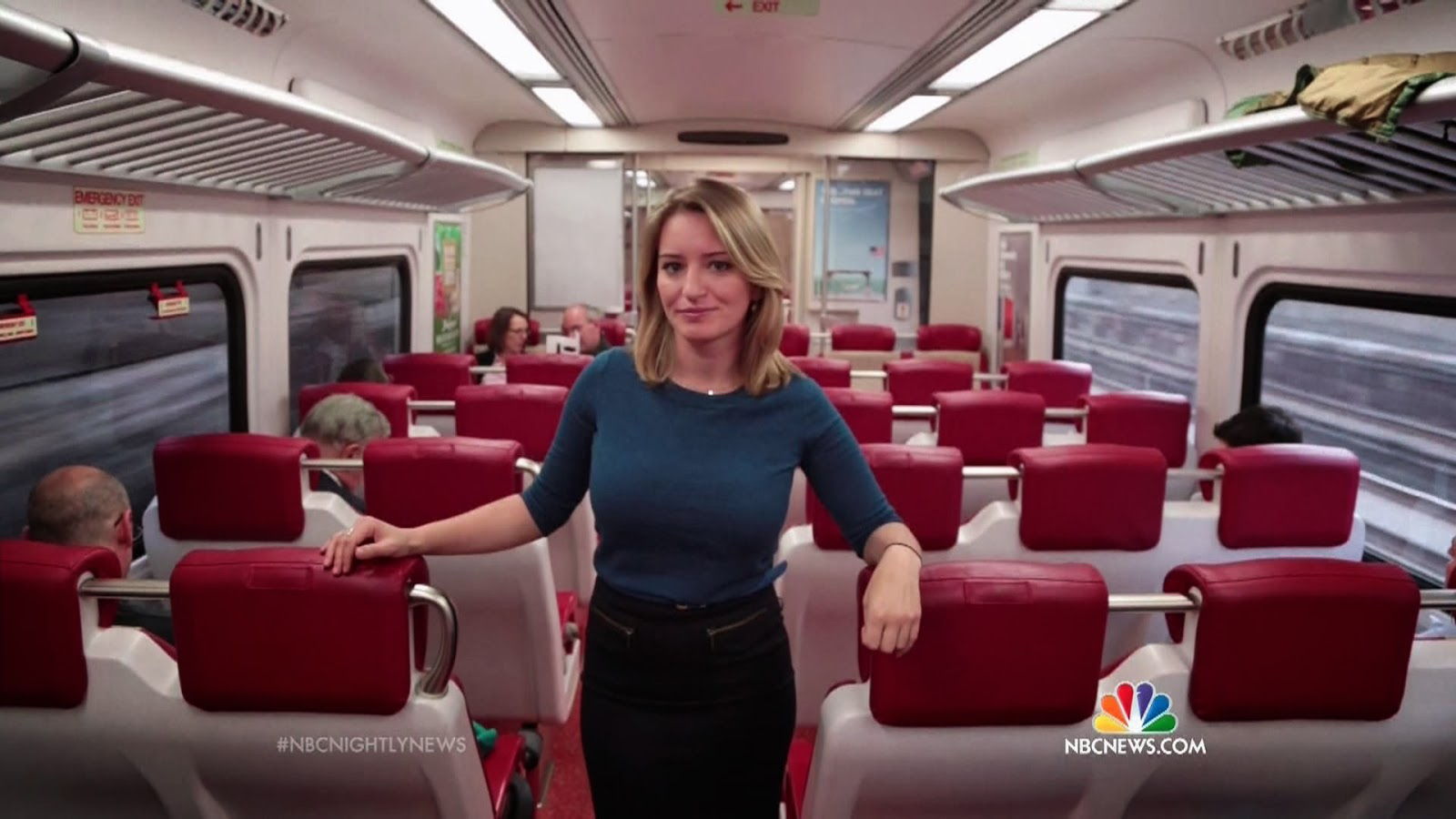 Donald Trump continues to be threatened by NBC's Katy Tur ...