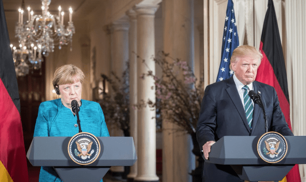 Donald Trump gave Angela Merkel and 'invoice' for alleged NATO dues