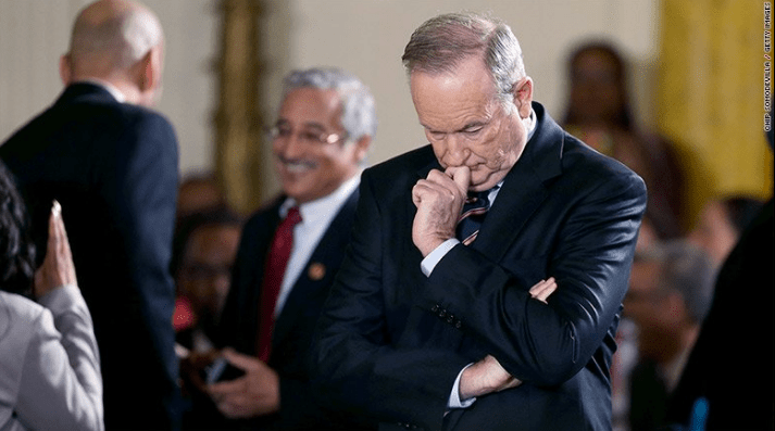 21st Century Fox has whacked Bill O'Reilly