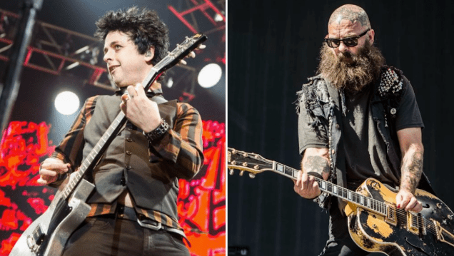 Green Day's Billie Joe Armstrong and Rancid's Tim Armstrong form punk rock supergroup