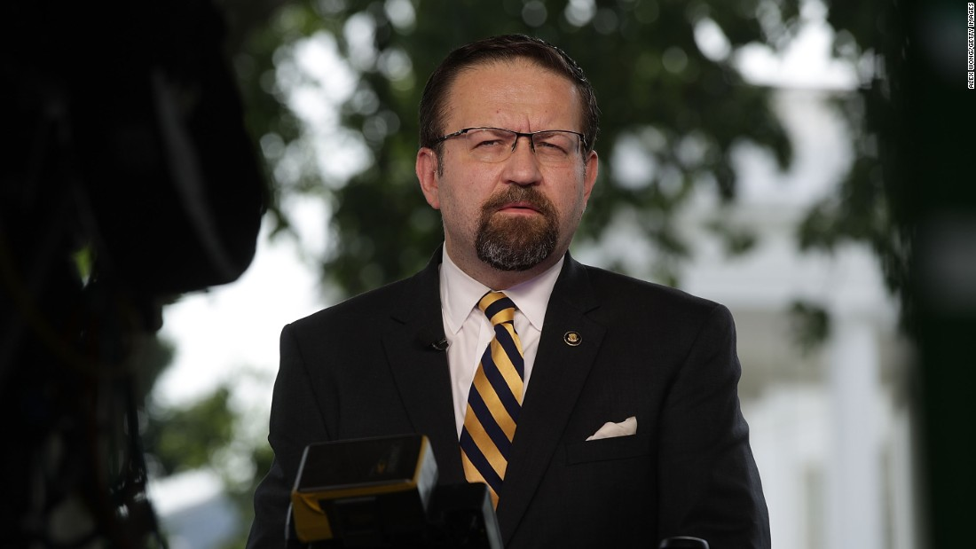 """Deputy assistant"" Sebastian Gorka resigns from White House post"