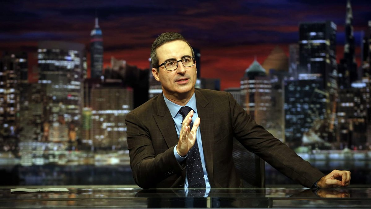 WATCH: John Oliver lays into a hypocritical Academy over the Harvey Weinstein ouster