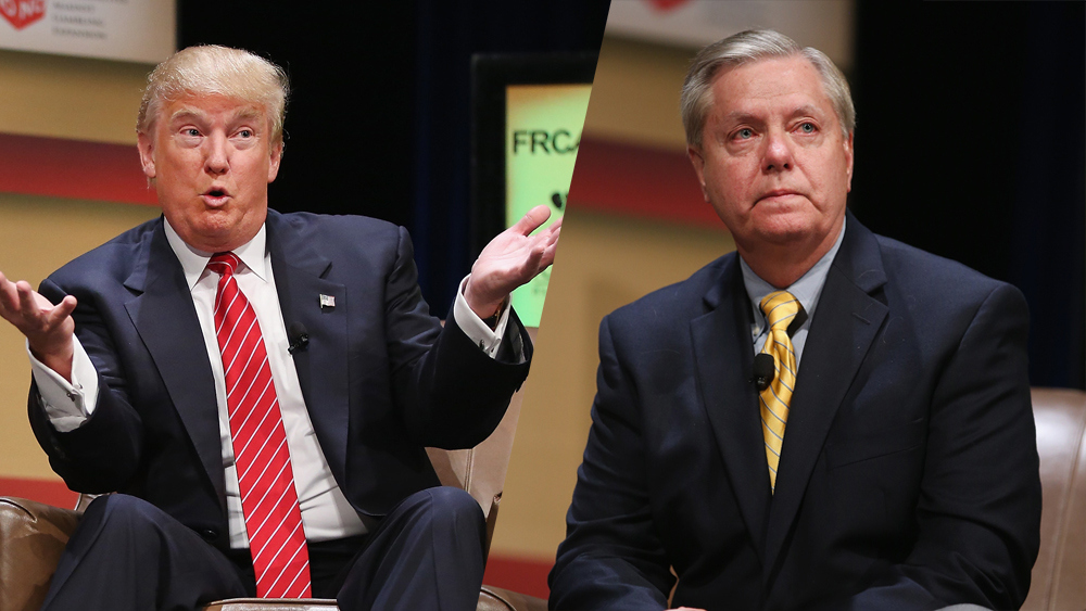 Lindsay Graham told Tim Scott that Donald Trump's 'shithole' comments are 'basically accurate'