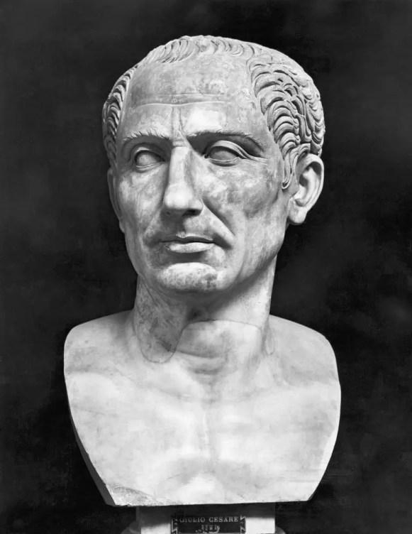 Busto de Julio César.