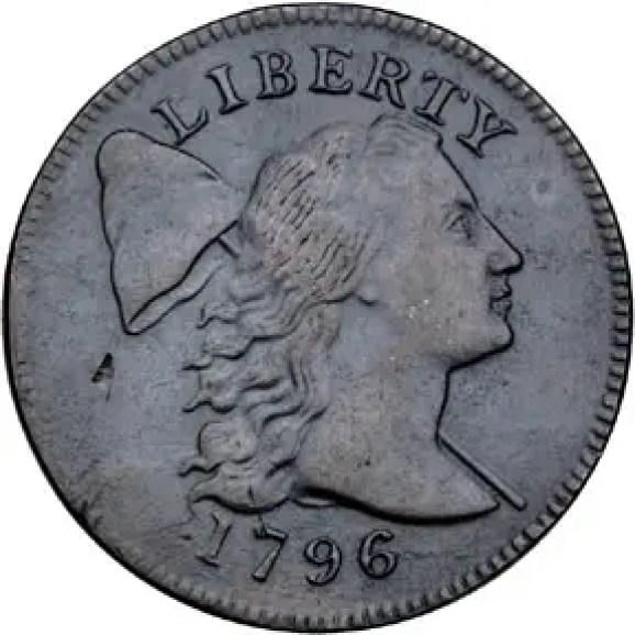 Moneda estadounidense mostrando un pilelus.