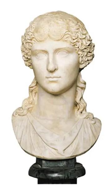 Busto de Agripina la Mayor.