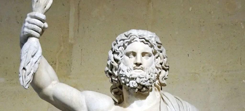 Estatua de Zeus.
