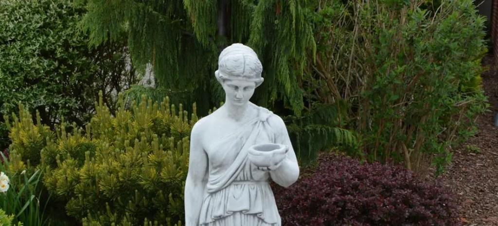 Estatua de Hestia.