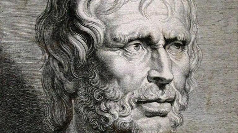 Grabado de Lucio Anneo Séneca. La muerte de Séneca fue relatada por Tácito.