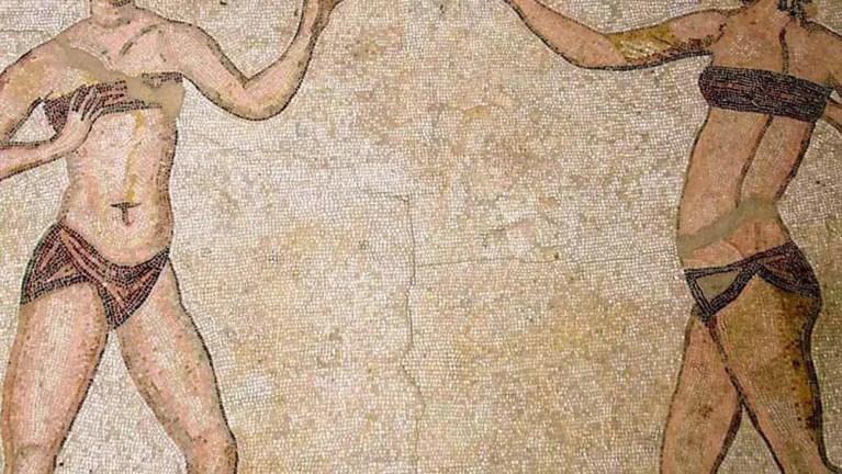 Mujeres deportistas romanas.