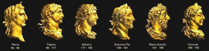Emperadores de la dinastía Antonina.