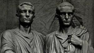 Los hermanos Graco, promotores de la reforma agraria.