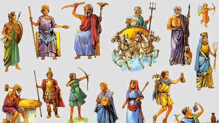 Dioses grecorromanos, las diferencias entre los dioses griegos y los dioses romanos.