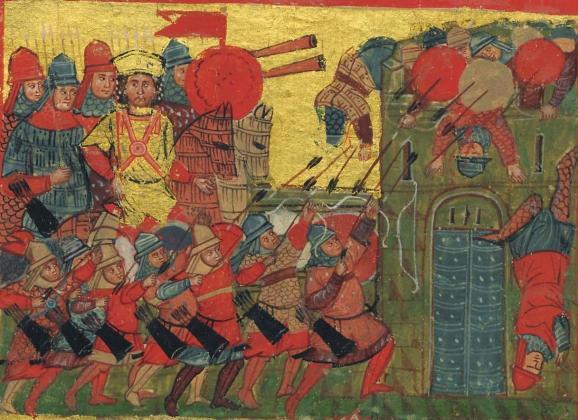 La conformazione dell'esercito imperiale nel XI-XII secolo