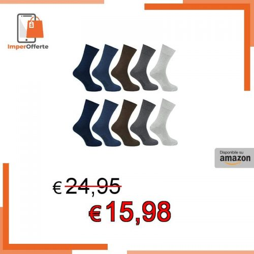 SoftSocks for Everyone Mix classic socks 10 + 1 bamboo 47-50
