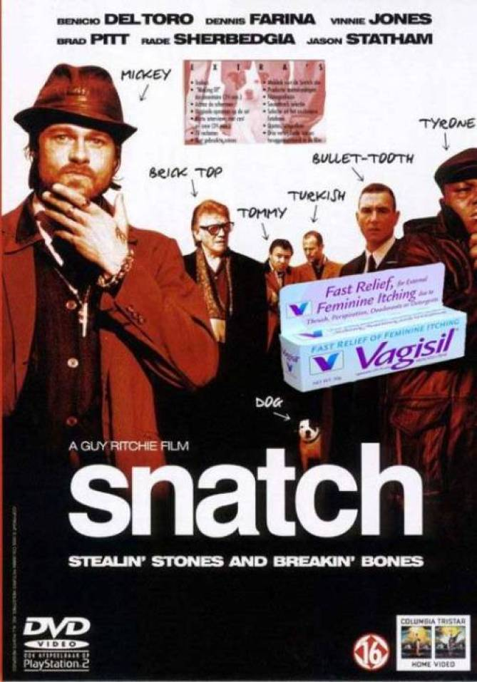 8. Snatch and Vagisil. For when your itchy snatch is feeling not so fresh…
