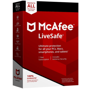 McAfee Livesafe Portada