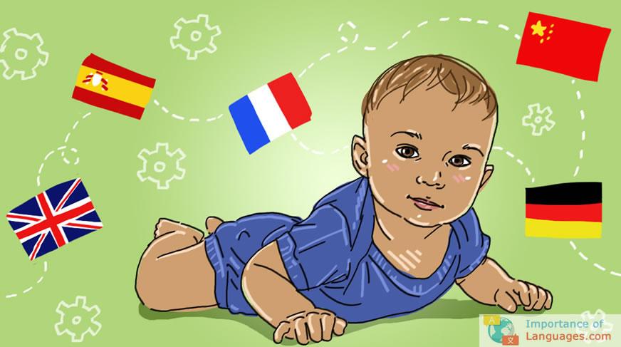Children with languages