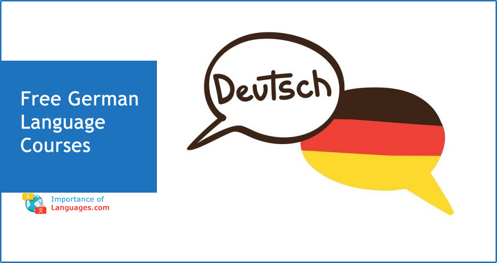 Free German Language Courses