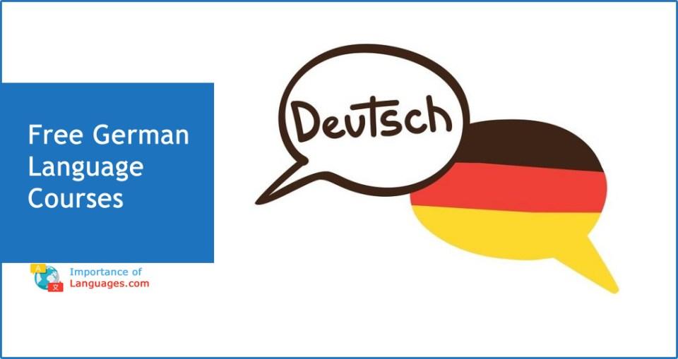 Free German Language Courses