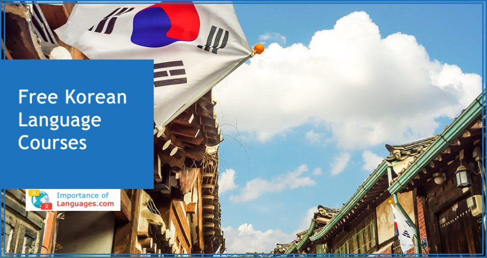 Free Korean language courses