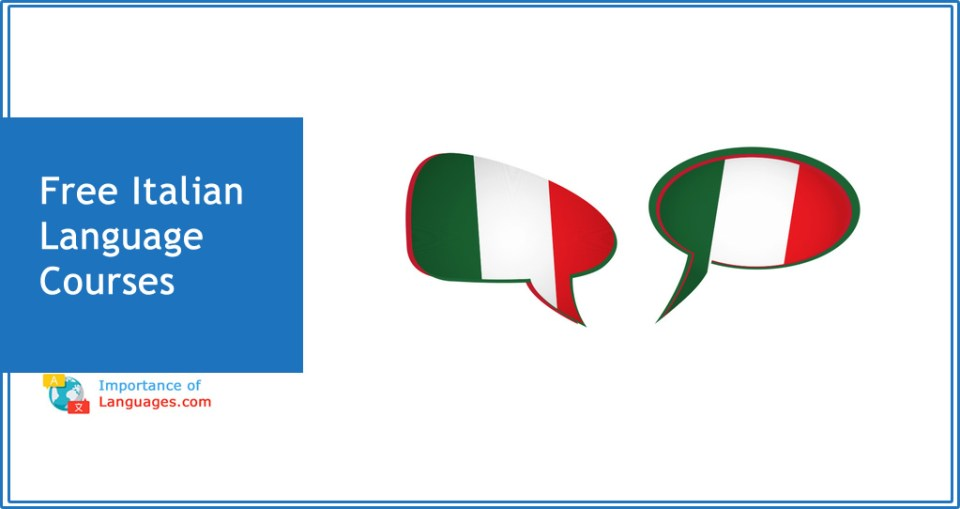 Free italian Language courses