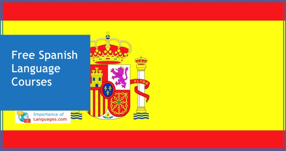 Free spanish language courses