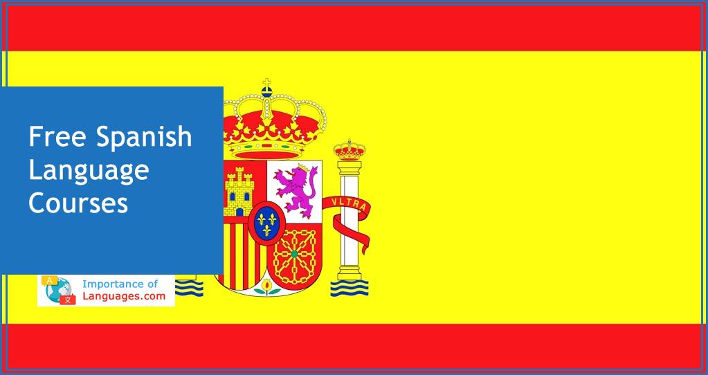 Free spanish language courses