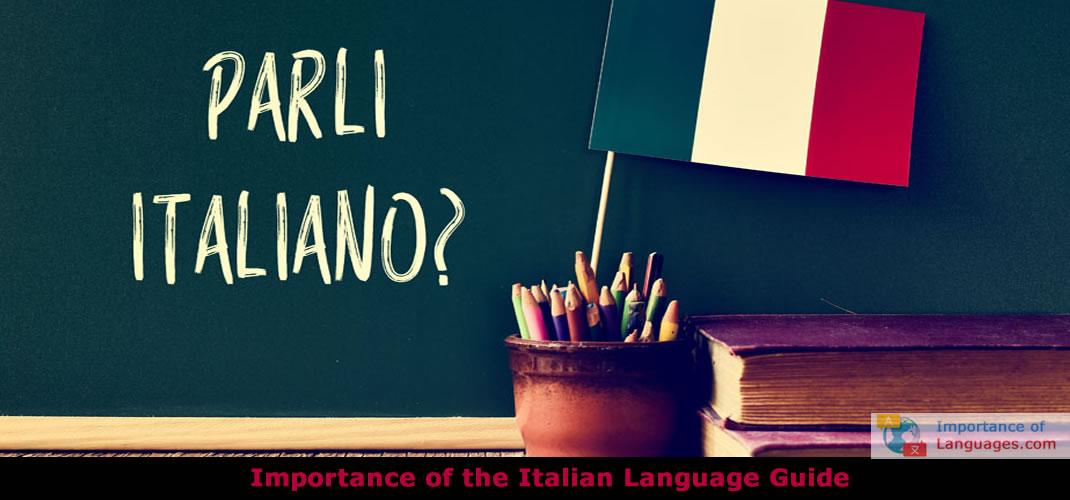 The Importance of Italian Language