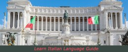 Learn Italian Language Guide