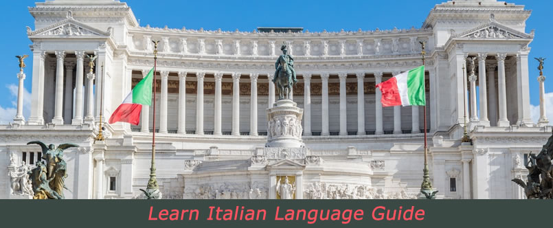 Tourists visiting italy can learn basic phrases in italian.