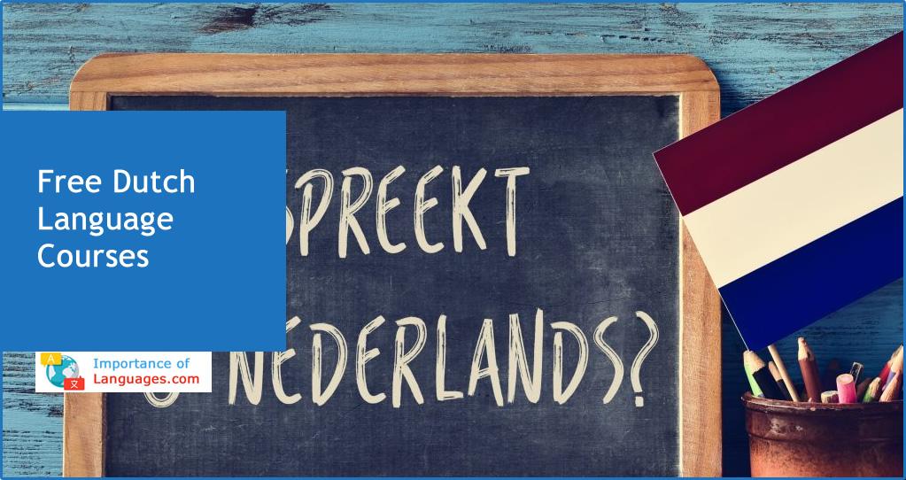 free dutch language courses
