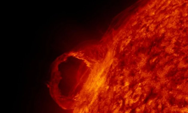 Größte Sonnenerruption seit 5 Jahren!