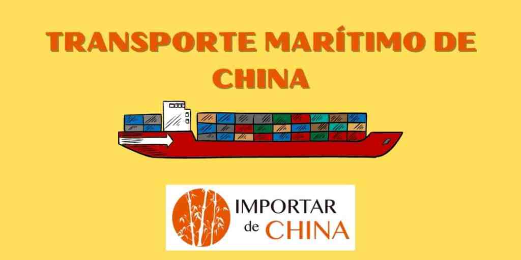 Transporte marítimo de China