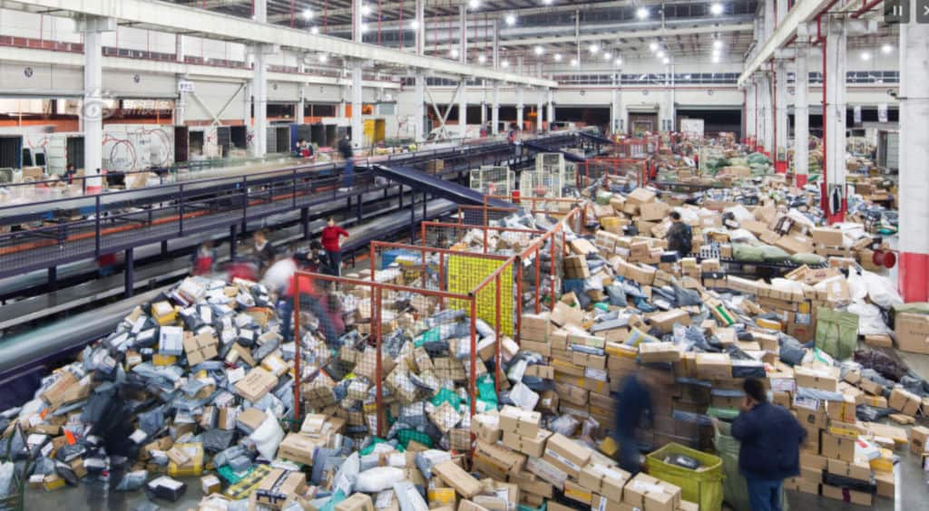 Importar paquetes desde China
