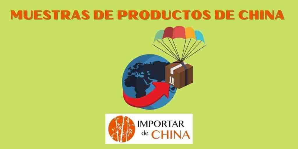 Muestras de productos de China