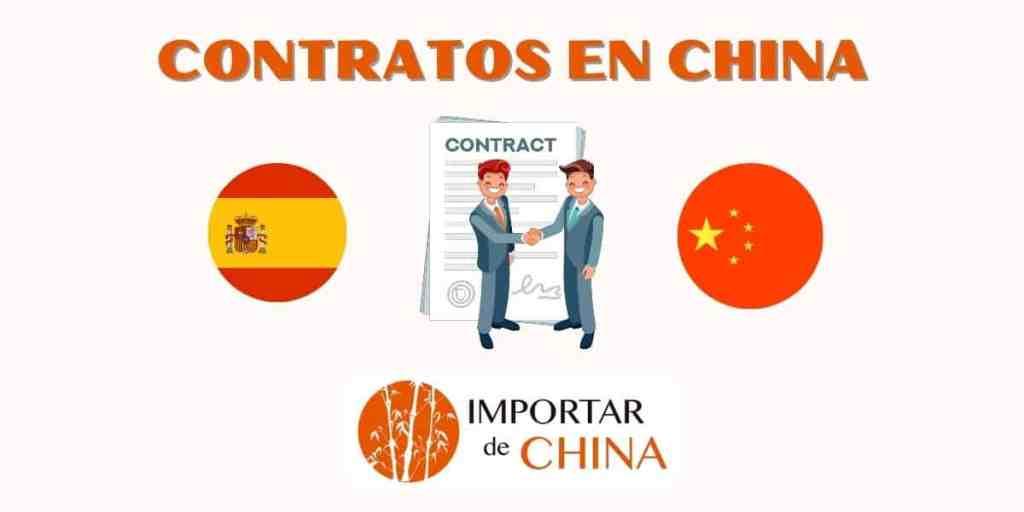 Firmar contratos en China